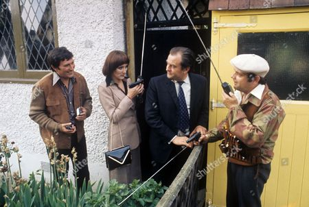 Mark Eden, Elizabeth Counsell, Michael Stainton and David Jason