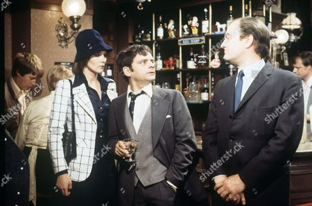Elizabeth Counsell, David Jason and Michael Stainton