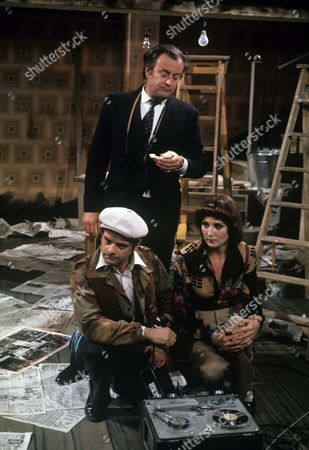 Michael Stainton, David Jason and Elizabeth Counsell