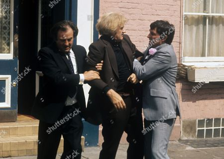 Stock Image of Michael Stainton, Percy Herbert and Mark Eden