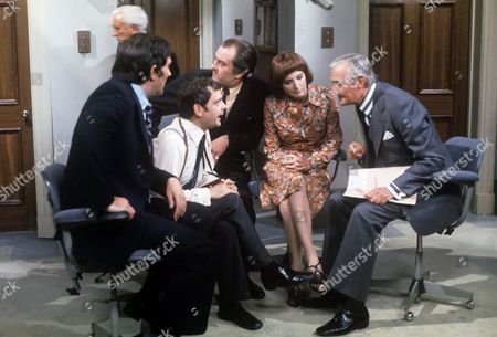 Mark Eden, David Jason, Michael Stainton, Elizabeth Counsell and Noel Coleman