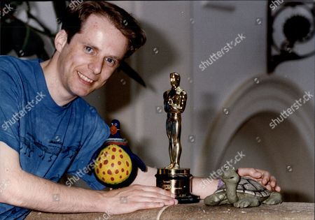 Stock Photo of Nick Park Animation Filmmaker With His Oscar Nicholas Wulstan 'nick' Park Cbe (born 6 December 1958) Is An English Filmmaker Of Stop Motion Animation Best Known As The Creator Of Wallace And Gromit And Shaun The Sheep. Park Has Been Nominated For An Academy Award A Total Of Six Times And Won Four With Creature Comforts (1989) The Wrong Trousers (1993) A Close Shave (1995) And Wallace & Gromit: The Curse Of The Were-rabbit (2005).