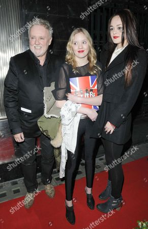 Roger Taylor, Lola Taylor and Genevieve Potgieter