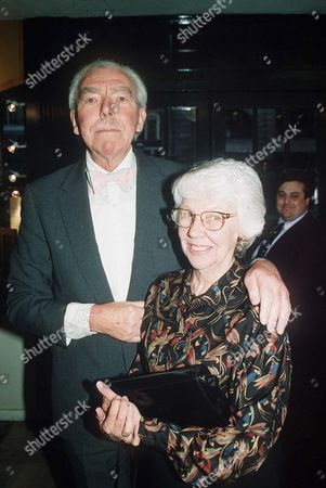 FRANK MUIR WITH HIS WIFE