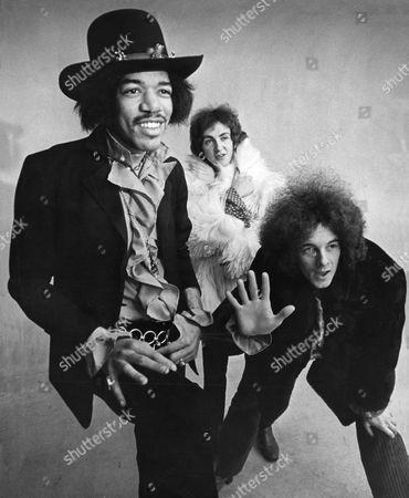 The Jimi Hendrix Experience - Jimi Hendrix, Mitch Mitchell AND Noel Redding