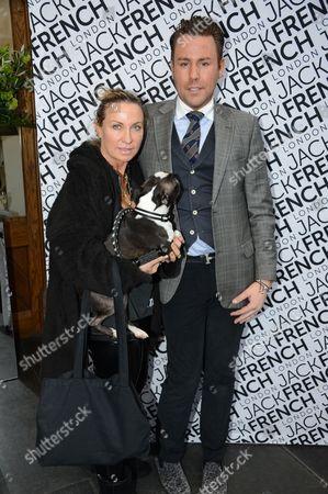 Meg Mathews and Jack French