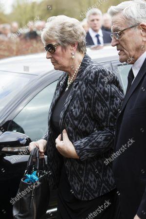 Brenda Presley, widow of reg Presley.