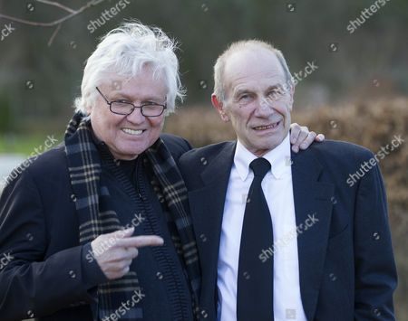 Stock Image of Chip Taylor and Chris Britton of the Troggs.