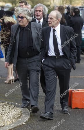 Stock Photo of Songwriter Peter Lucas and Chris Britton of the Troggs.