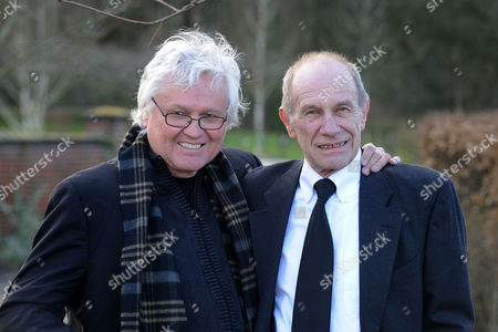 Stock Photo of Chip Taylor and Chris Britton of The Troggs