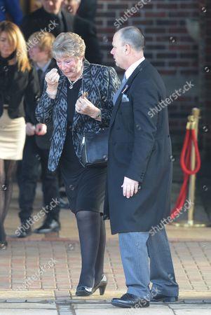 Stock Picture of Reg Presley's wife Brenda
