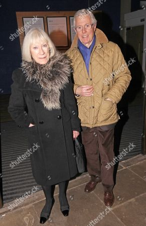 Irene Clark and Michael Aspel