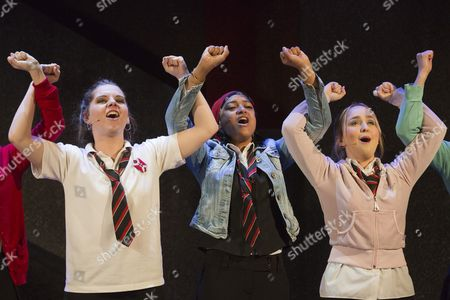 'Glasgow Girls' - Dawn Sievewright, Amaka Okafor and Stephanie McGregor
