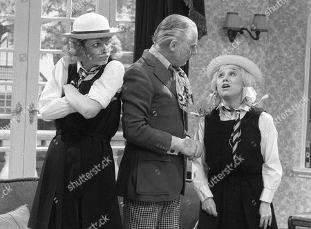 Marti Caine, Patrick Cargill and Barbara Windsor