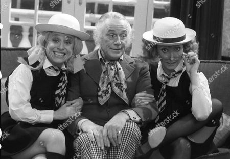Barbara Windsor, Patrick Cargill and Marti Caine