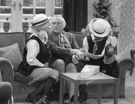 Barbara Windsor, Patrick Cargill and Marti Caine