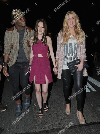 Anthony BB Kaye, Rosie Fortescue, Cheska Hull