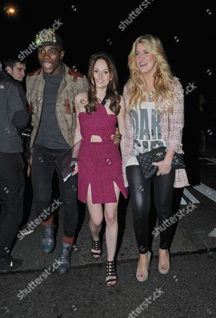 Anthony BB Kaye, Cheska Hull, Rosie Fortescue