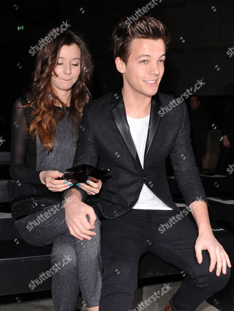 Louis Tomlinson and his girlfriend Eleanor Calder