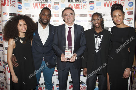 Editorial image of Whatsonstage.com Awards, London, Britain - 17 Feb 2013
