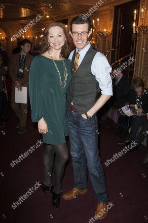 Kristen Beth Williams and Gavin Lee