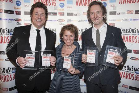 Michael Ball, Imelda Staunton and Jonathan Church