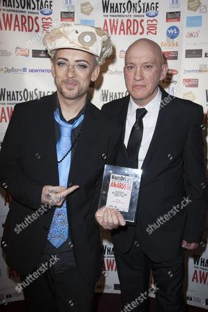 Boy George and Mark Davies Markham
