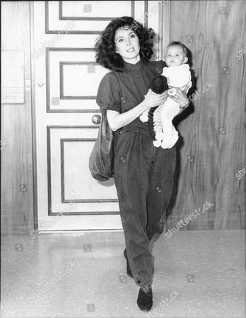 Barbara Parkins Actress With Her Daughter Christina.