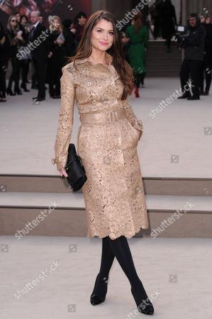 Editorial picture of Burberry Prorsum show, Autumn Winter 2013, London Fashion Week, London, Britain - 18 Feb 2013