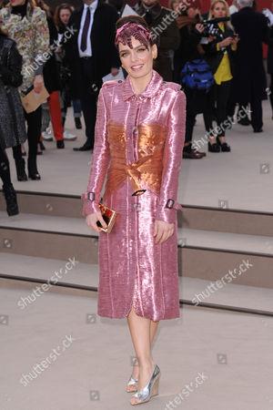 Editorial photo of Burberry Prorsum show, Autumn Winter 2013, London Fashion Week, London, Britain - 18 Feb 2013