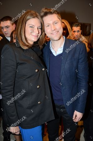 Stock Image of Natalie Massanet and Christopher Bailey