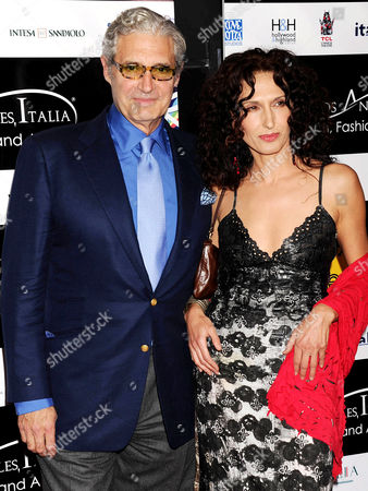 Michael Nouri and Francesca Fanti