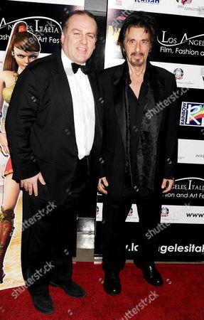 Pascal Vicedomini and Al Pacino
