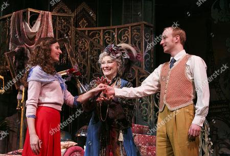 Stock Photo of Katy Treharne (Nina), Betty Buckley (Countess Aurelia), Stuart Matthew Price (Julian)