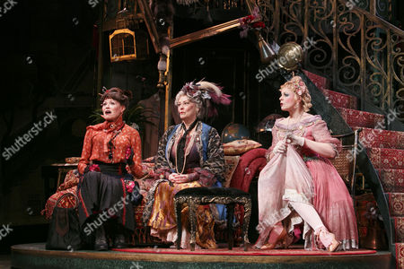 Annabel Leventon (Constance), Betty Buckley (Countess Aurelia), Rebecca Lock (Gabrielle)