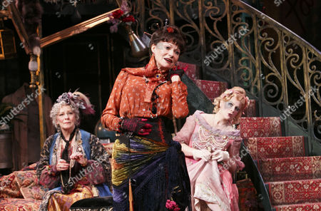 Betty Buckley (Countess Aurelia), Annabel Leventon (Constance), Rebecca Lock (Gabrielle)