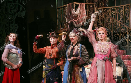 Katy Treharne (Nina), Annabel Leventon (Constance), Betty Buckley (Countess Aurelia), Rebecca Lock (Gabrielle)