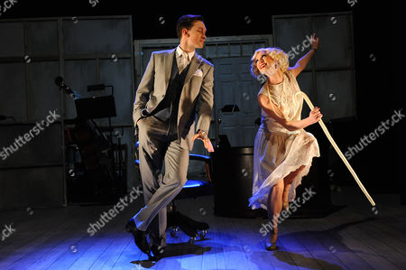 Dylan Turner as William Haines and Faye Tozer as Marion Davies