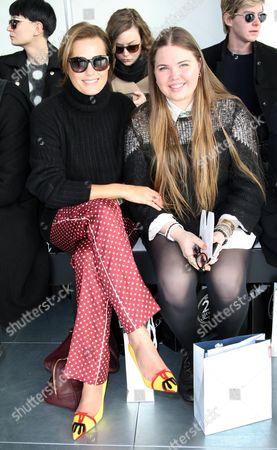 Stock Image of Yasmin Le Bon and Tallulah Le Bon