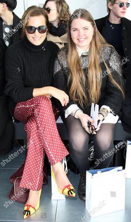 Yasmin Le Bon and Tallulah Le Bon