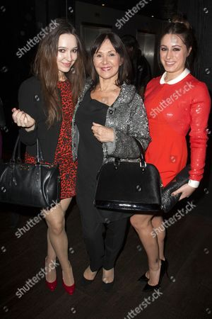 Stock Picture of Abi Phillips, Arlene Phillips and Alana Phillips