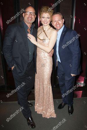 Donald Edge, Scarlett Strallen (Cassie) and Daniel Sparrow (Producer)