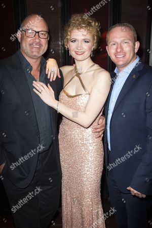 Editorial picture of 'A Chorus Line' play after party on Press Night at Aqua Nueva, London, Britain - 19 Feb 2013