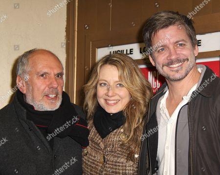 Stock Photo of Michael Cristofer, Jennifer Mudge and Chris Coffey