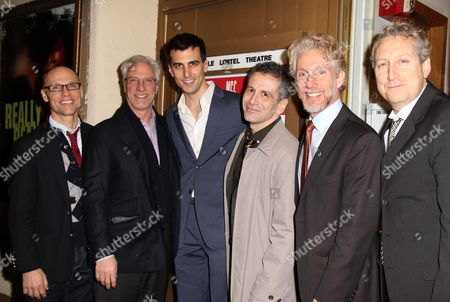 Will Cantler, Robert LuPone, Paul Downs Colaizzo and David Cromer