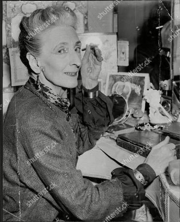 Editorial photo of Marjorie Fielding (dead December 1956) Actress.