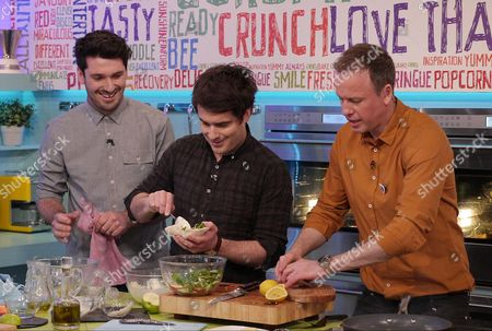 Tim Lovejoy with The Fabulous Baker Brothers - Tom Herbert and Henry Herbert