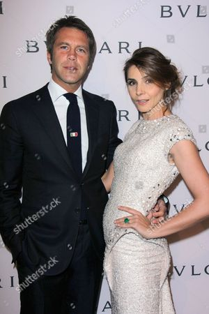 Prince Emanuele Filiberto and Princess Clotilde Courau