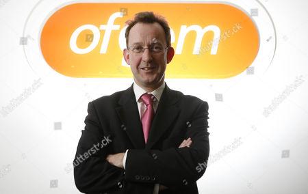 Editorial image of Alistair Buchanan, Ofgem Director General at his London office in London, Britain - 14 Jan 2009 - 14 Jan 2009