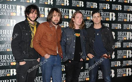 Editorial photo of The Brit Awards, Arrivals, O2 Arena, London, Britain - 20 Feb 2013